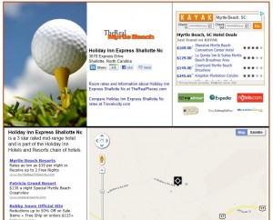 TheRealMyrtleBeach.com screen shot