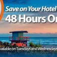 Save big on hotels in Orlando, Southern California, Las Vegas and Canada - but it's a 48 hour sale that ends Wednesday!