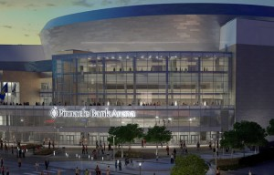 Pinnacle Bank Arena in Lincoln Nebraska
