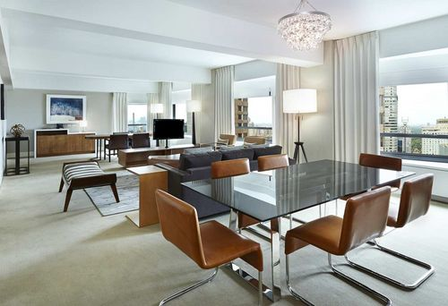 Photo of suite at New York Hilton Midtown