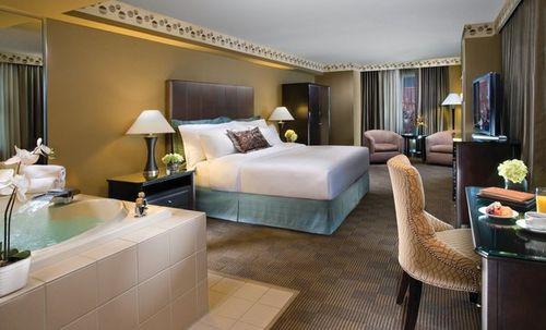Photo of guest room at New York New York Hotel and Casino in Las Vegas