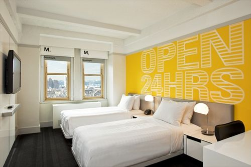 Photo of guest room at The Row NYC