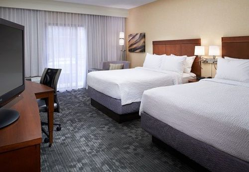Photo of guest room at Courtyard by Marriott Detroit Dearborn