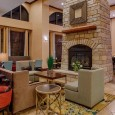 "This hotel in the north Dallas suburb of Frisco has completed a top-to-bottom renovation that includes an upgrade of the lobby to Hampton Inn's ""Perfect Mix"" concept"