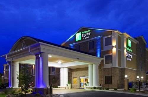 Exterior photo of Holiday Inn Express Fort St John in British Columbia