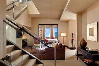 Photo of penthouse suite at Hotel Ivy in Minneapolis, Minnesota
