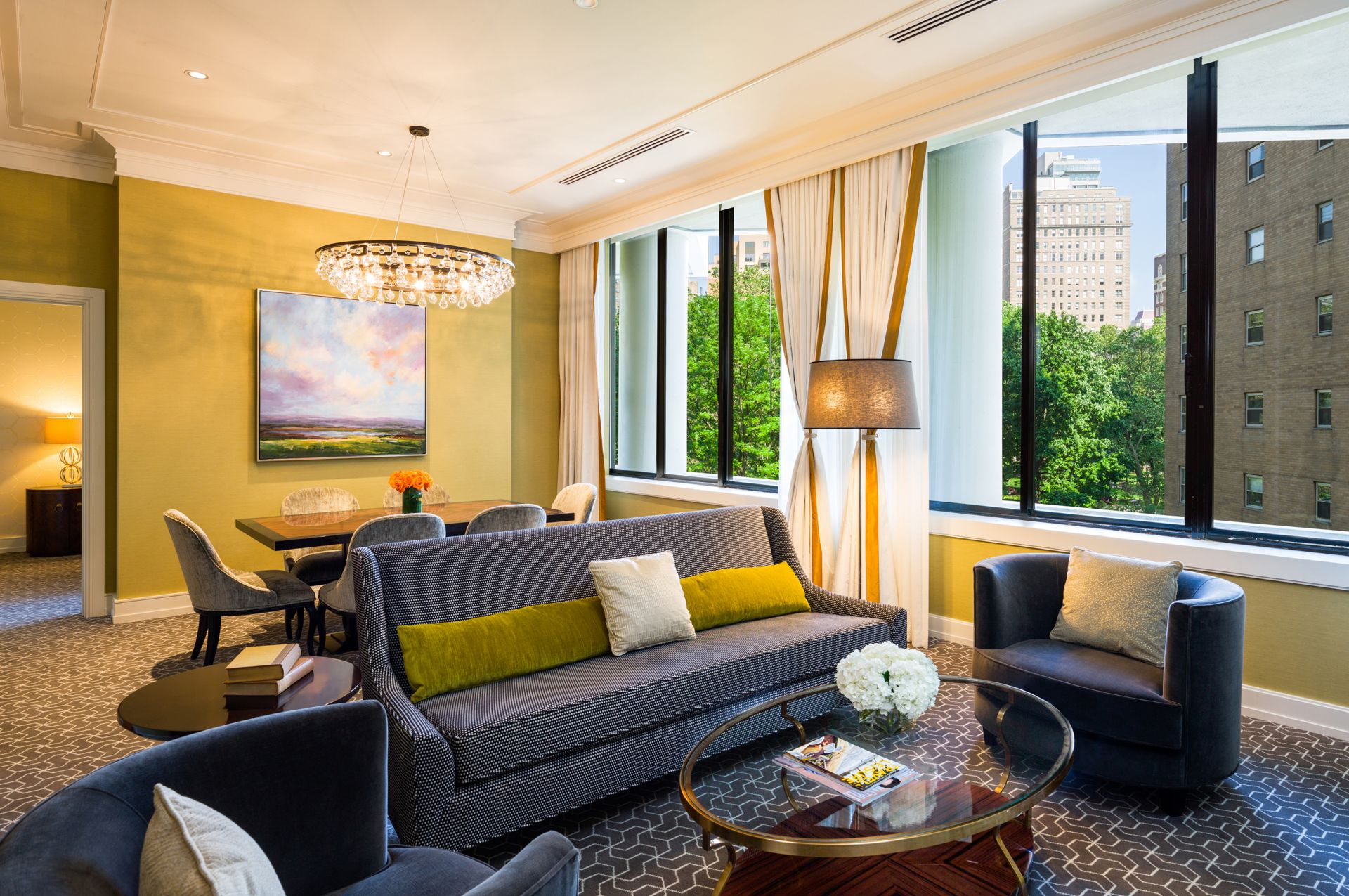Photo of suite at The Rittenhouse in Philadelphia, Pennsylvania