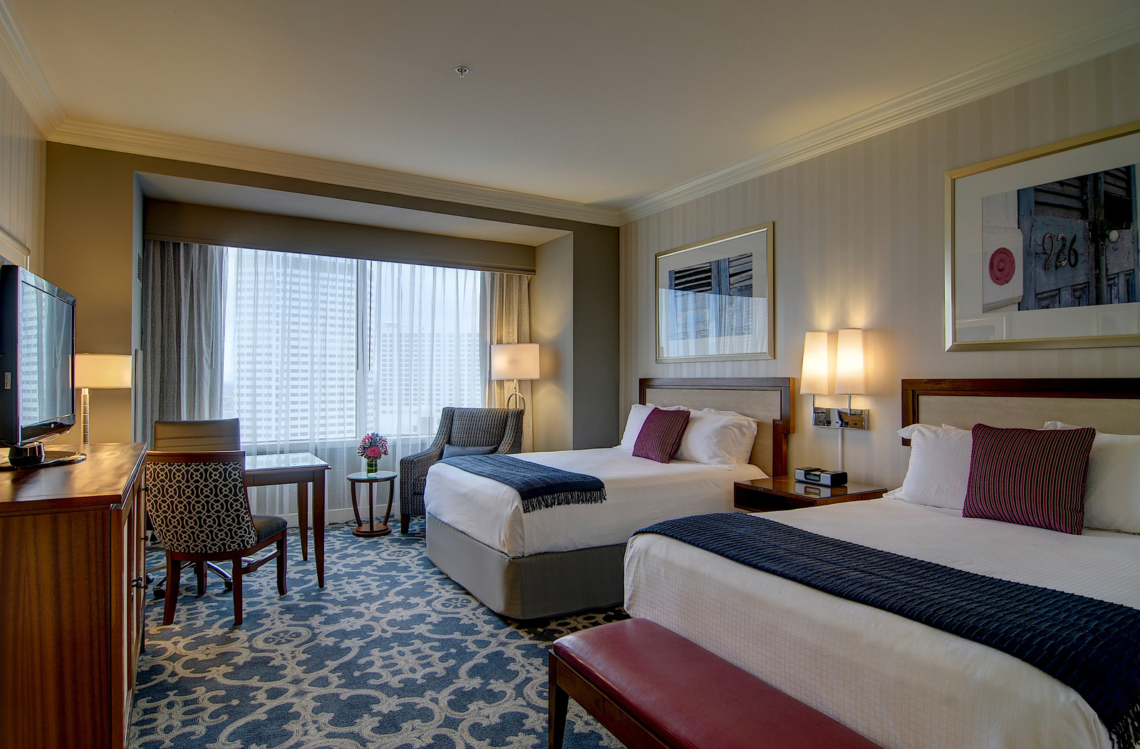 Photo of guest room at Loews New Orleans