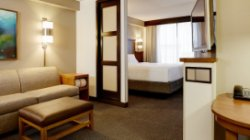 Photo of guest room at Hyatt Place Orlando Airport