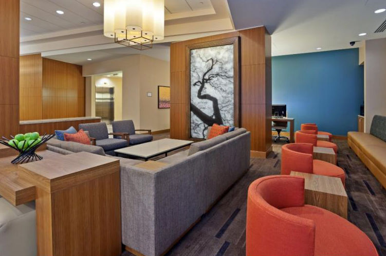 Photo of lobby of Hyatt Place Bowling Green in Kentucky