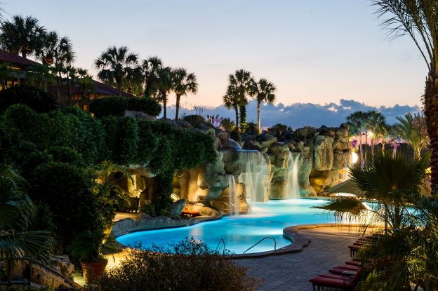 swimming pool at Hyatt Regency Grand Cypress in Orlando, Florida