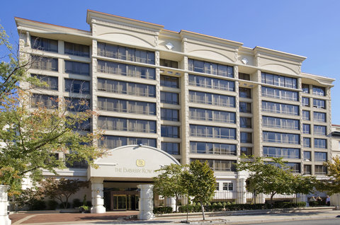 Exterior view of The Embassy Row Hotel in Washington DC