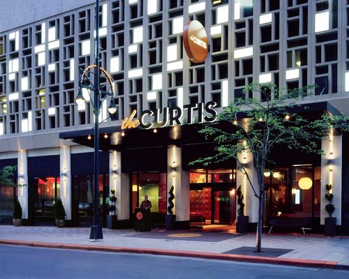 Exterior photo of The Curtis in Denver, Colorado