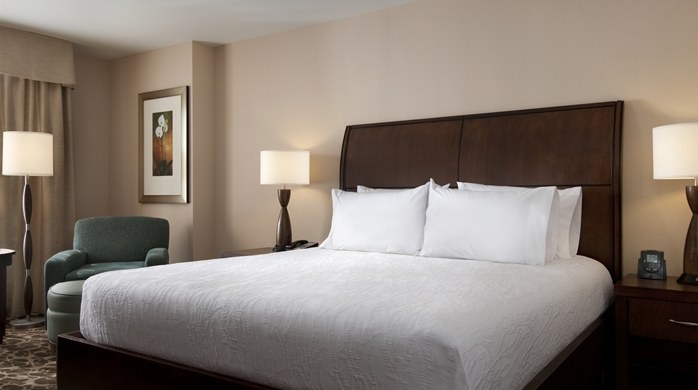 Photo of guest room at Hilton Garden Inn Buffalo Downtown