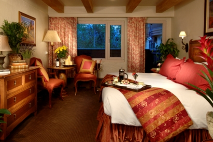 Photo of deluxe guest room at The Lodge at Vail