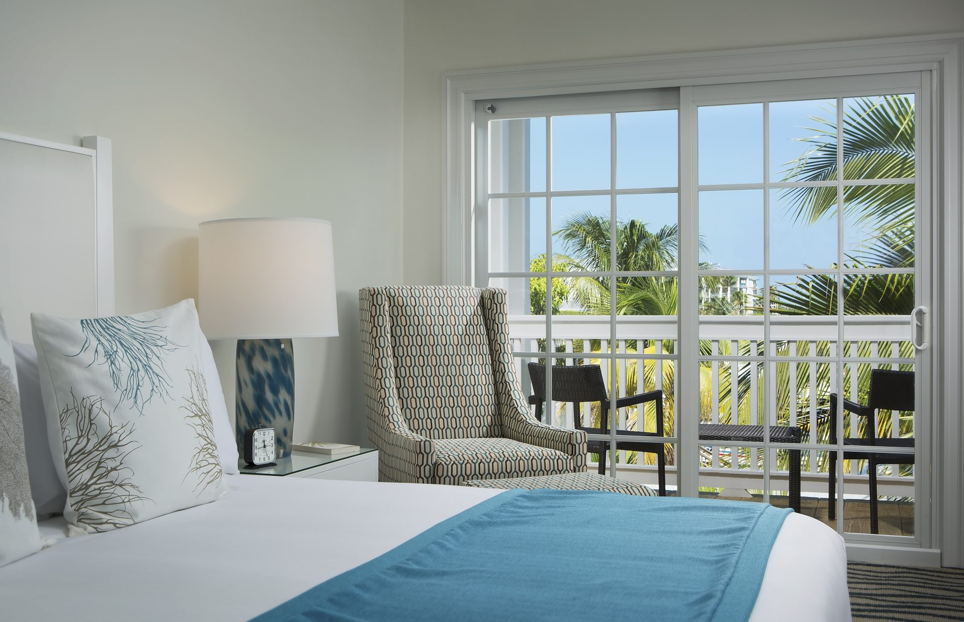 Photo of guest room at The Marker Waterfront Resort in Key West, Florida