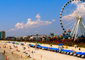 Photo of Myrtle Beach oceanfront