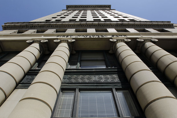 Photo of exterior of 21C Museum Hotel Durham in downtown Hill Building