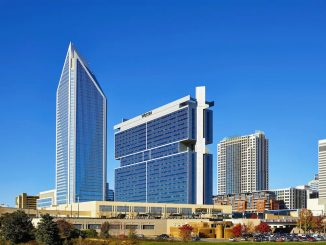 Skyline view of The Westin Charlotte