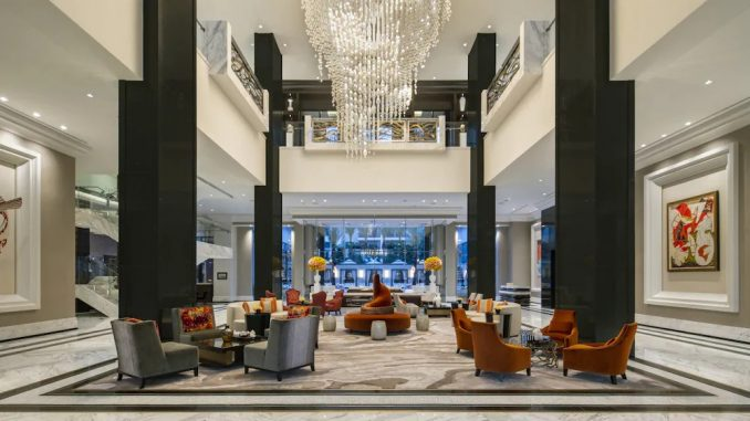 Lobby at The Post Oak Hotel at Uptown Houston