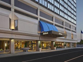 Exterior view of Hilton Hartford