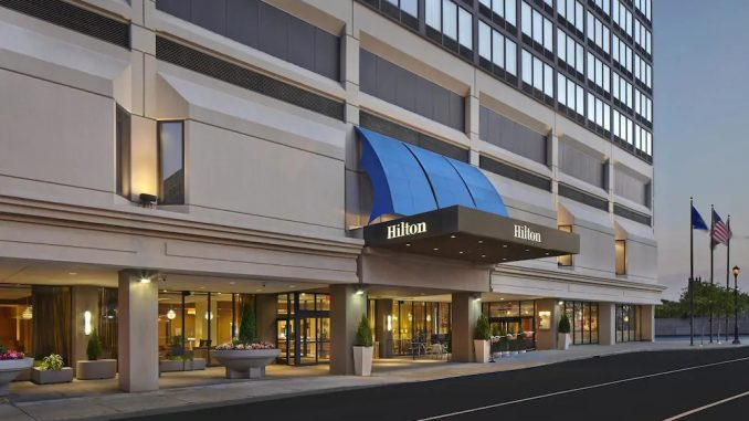 Exterior view of Hilton Hartford