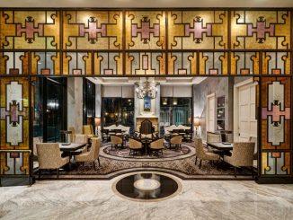 Lobby of Loews New Orleans Hotel