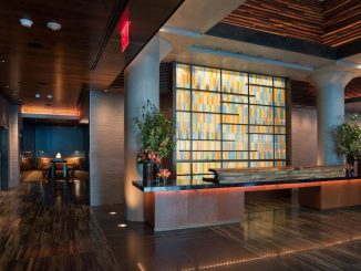 Lobby of Kimpton Ink48 Hotel in New York City