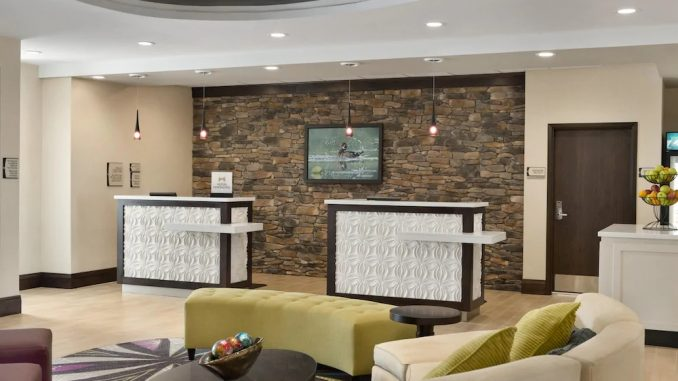 Lobby of Homewood Suites by Hilton Mobile I-65/Airport Blvd