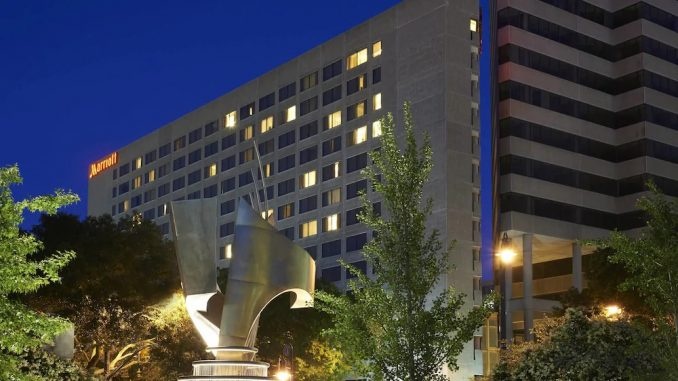 Exterior view of Columbia Marriott